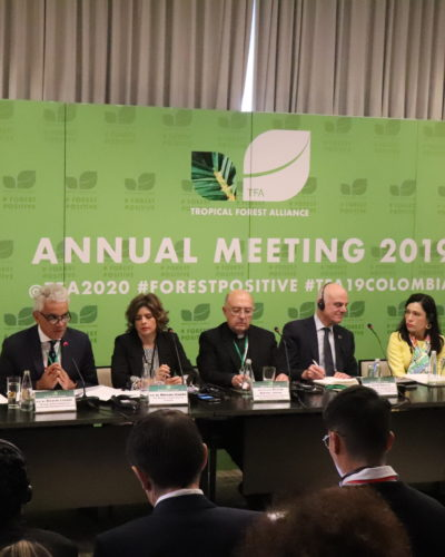 Colombia país anfitrión del Tropical Forest Alliance