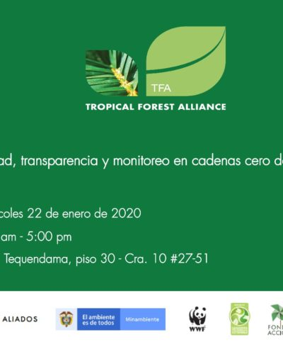 Evento Alianza TFA Colombia